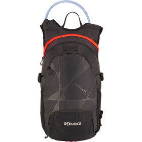 SOURCE Fuse Air Rygsæk 3+9l, black/orange